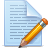 icons document pencil 48